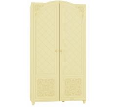 Шкаф для одежды Соня СО-11 ваниль / ваниль шагрень